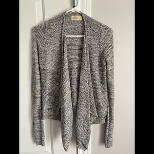Hollister grey cardigan in size small